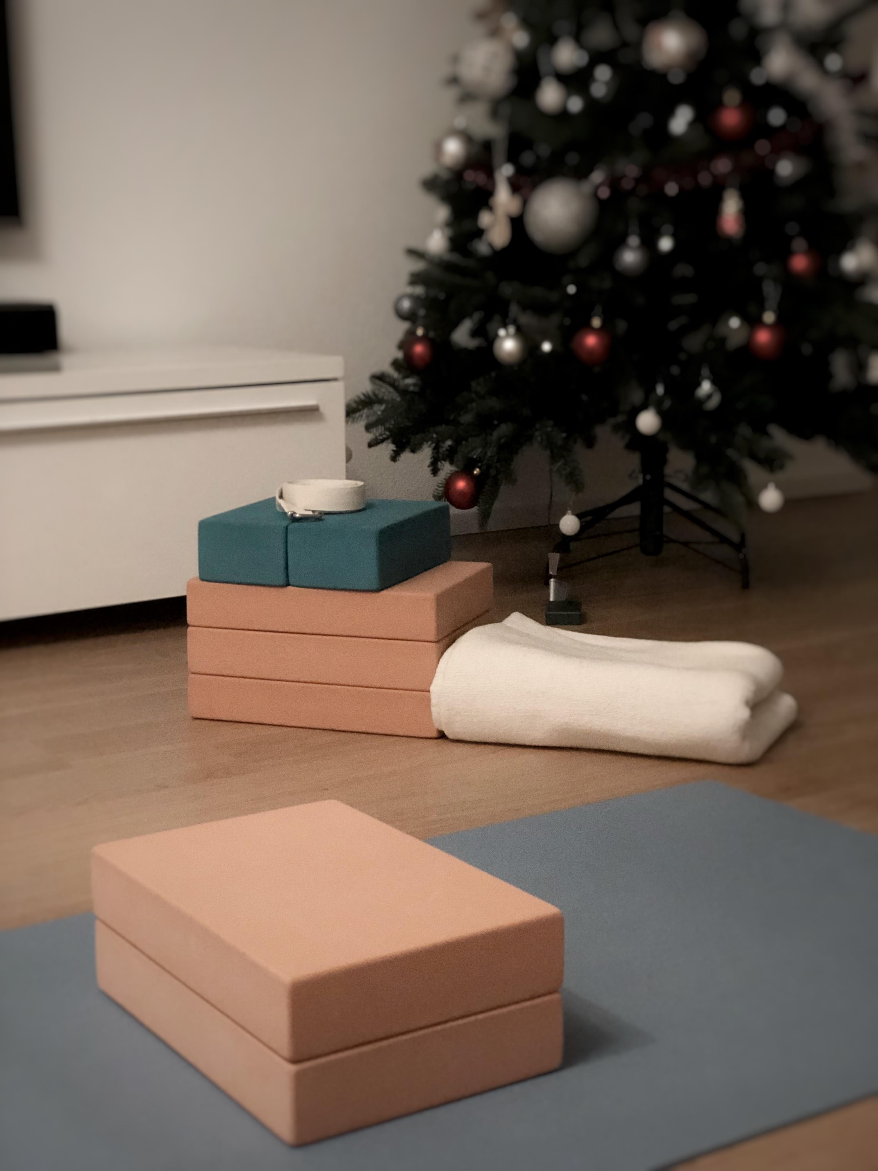 yoga setup